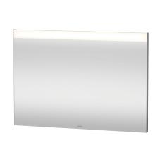 Spejl med LED lysfelt øverst 100x70cm til ekstern kontakt