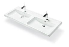 Wave håndvask 120x45 dobbelt
