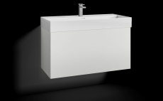 Forma underskab 100x45 hvid 1 skuffe Box ONE