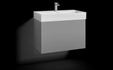 Forma underskab 80x45 grå 1 skuffe Box One+