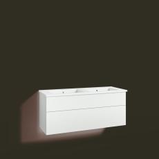 Forma underskab 120x45D hvid 2 skuffer Box One+