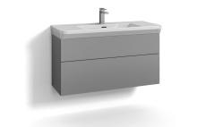 Forma underskab 100x35 grå 2 skuffer Box One+