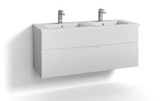 Forma underskab 120x45D hvid 2 skuffer Box One+ greb 6