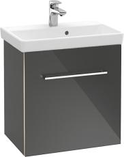 V&B A888 Avento vaskeskab højre Crystal Grey