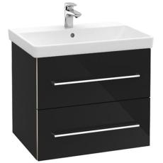 V&B A890 Avento vaskeskab Crystal Black