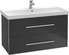 V&B A892 Avento vaskeskab Crystal Grey