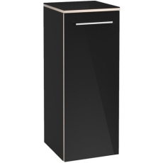 V&B A895 Avento sideskab Højre Crystal Black