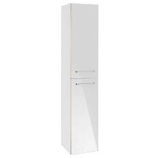 V&B A894 Avento højskab Højre Crystal White