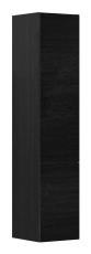 Artic højskab 35x163x37 cm med 2 låger sort eg