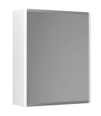 Graphic Spejlskab 45x55x16 cm hvid dobbeltsidet spejl 2 hyld