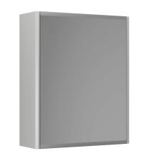 Graphic Spejlskab 45x55x16 cm grå dobbeltsidet spejl 2 hylde