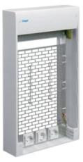 Gamma Multimediekapsling 4R GD418SMB 625 x 355 x 103 mm