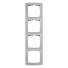 Berker Ramme 4 modul S.1 hvid