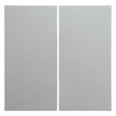 Berker Tangent dobbelt S./B. hvid