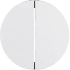 Berker Tangent dobbelt R.1 hvid