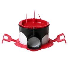 Kaiser indmuringsdåse lufttæt med Låg og klemmfix holder