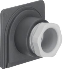 Berker Kabelforskruning enkelt M20 grå W.1 IP55
