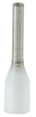 Tylle Isolerede 0,75 mm² hvid H0,75/14 (100) (W)