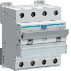 Kombiafbryder Automatsikring/HPFI C 25A 4P, 30 mA, ADM456C