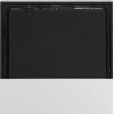 KNX dæksel for termostat og rumføler, hvid