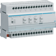 KNX aktuator 16 udgange 16A c/8 pers easy