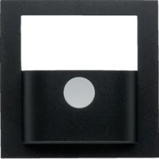 KNX afdækning for bevægelsessensor s./b., antracit