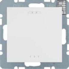 KNX CO2 sensor fugt/temperatur reg. s./b., hvid