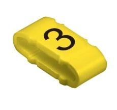 Kabelmærke CLI M 2-4 mærket: 3 (P100)