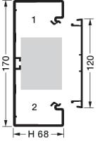 Kanalbund BR 70170/1 perlehvid