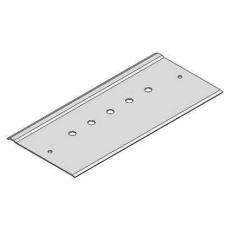 Montageplade for Deleskinne 100 mm FZS