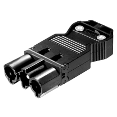 GST18i3 Stik Skrue Han 3P 0,75-2,5mm² Ø6,5-10,5 mm Sort