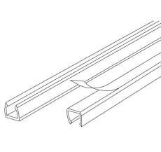 Minikanal LC 81 7,5x9,5 mm klar