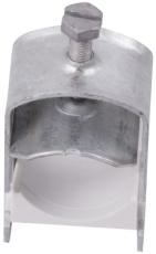 Aflastningsbøjle 70-76 mm med modlæg (pakke á 20 stk)