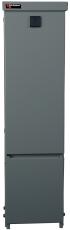 Gadeskab tomt SCC 264 700x264x198 mm, uden gæller, grå