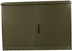 Multifunktionsskab MCL 123 grøn, svinggreb