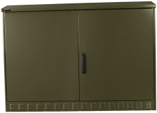 Multifunktionsskab MCL 126 grøn, svinggreb