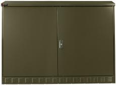 Multifunktionsskab MCL 156 grøn, teardrop