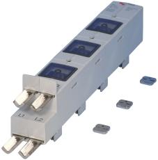Indsløjfningsliste FSD uden klemmer (50-240mm²) 595980