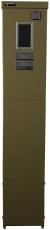 Målerstander med rude KSMØ 481210 for stikben grøn