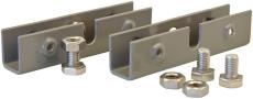 Sammenkoblingsbeslag til KSE skabe side/side grå