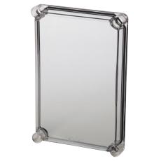 Dæksel EKJ30-T 280x190x30 mm transparent