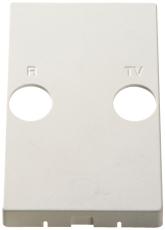 Afdækning TV/R til TD2xxE, hvid