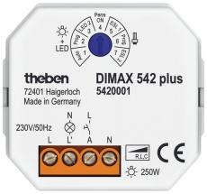 LYSDÆMPER DIMAX 542 PLUS INDBYG UDTAG VELEGNET T/LED 230V