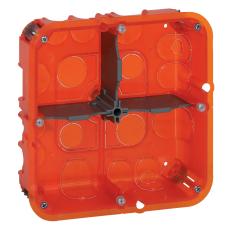 Mosaic indnmuringsdåse multidåse 2x5M 50 mm, rød, Europadåse