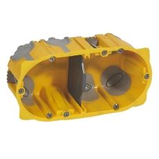 Forfradåse 4M 50 mm, gul, lufttæt, inkl. aflastning, Europad