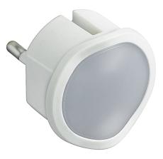 Multi-O LED lampe med nødlys, 1,5 Time, hvid