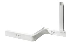Kanal Kliksystem 50 x 105 mm hvid (2M)
