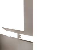Kanal Kliksystem 50 x 130 mm hvid (2M)