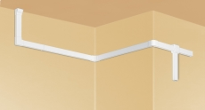 Kanal halogenfri 50 x 130 mm hvid (2M)