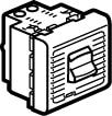 Mosaic Mcb Enpolet Termisk/Magnetisk 10A 2M Hvid